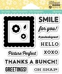 Jillibean Soup Picture Perfect Acrylic Stamp Set 4